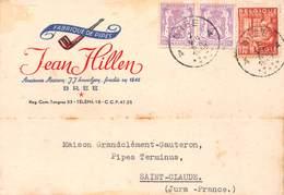 Belgique - BREE - Fabrique De Pipes Jean Hillen - Maison Grandclément-Gauteron Saint-Claude - Bree