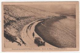 Carte De  Carpentras  - Route Du Mont Ventoux  -  (vaucluse ) - Carpentras