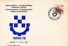 JUGOSLAVIA - OSIJEK  1978  - SZACHOWY - TORNEO DI SCACCHI -  CHESS - Scacchi