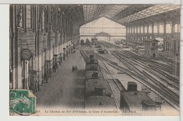 75 - PARIS - Le Chemin De Fer D'Orléans Avec Train, Gare D'Austerlitz - Autres