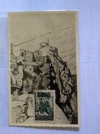 Marruecos Protectorado Español Carte Máximum 1954 On Photo Card - Marruecos