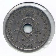 ALBERT I * 10 Cent 1920 Frans * Nr 5466 - 1909-1934: Albert I