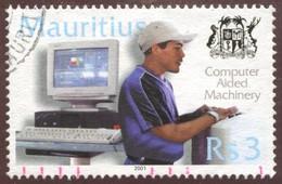 Pays : 320,3 (Maurice (Ile) : République)  Yvert Et Tellier N° :  972 (o) - Maurice (1968-...)