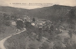 68 - GOLDBACH - Route Du Kolschalg Et Du Südelkopf - Sonstige Gemeinden