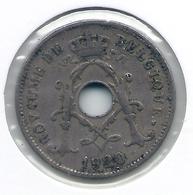 ALBERT I * 10 Cent 1920 Frans * Nr 5468 - 1909-1934: Albert I