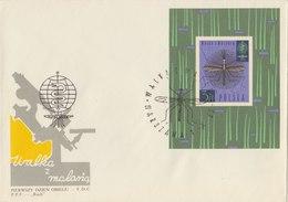 POLAND 1962 FDC Malaria With Block.BARGAIN,!! - Krankheiten