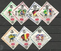 Yemen (Kingdom)  - 1970 Soccer World Cup CTO - Yemen