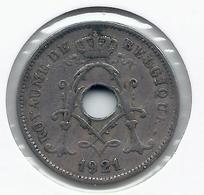 ALBERT I * 10 Cent 1921 Frans * Nr 5471 - 1909-1934: Albert I