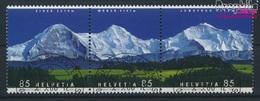 Schweiz 1966-1968 Dreierstreifen (kompl.Ausg.) Gestempelt 2006 Bergpanoramen (9286424 - Gebraucht