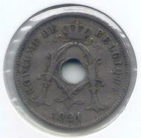 ALBERT I * 10 Cent 1921 Frans * Nr 5472 - 1909-1934: Albert I