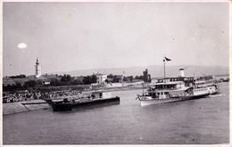 MOLDOVA-VECHE : BATEAU Sur DANUBE / PASSENGER SHIP - CARTE VRAIE PHOTO / REAL PHOTO POSTCARD ~ 1935 - '940 - RRR (aa780) - Roumanie