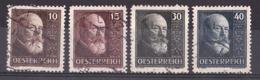 Autriche - 1928 - N° 374 à 377 Oblitérés - Président Hainish - Au Profit Des Orphelins De La Guerre - Cote 60 - Used Stamps