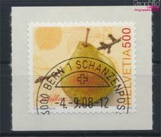 Schweiz 2078 (kompl.Ausg.) Gestempelt 2008 Freimarke: Obstsorten (9286363 - Suisse