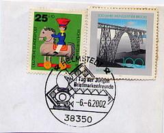 GERMANIA - 2002  HELMSTEDT  - SCHAFT - SZACHOWY - SCACCHI -  CHESS - DAMA  SCACCHIERA - Scacchi