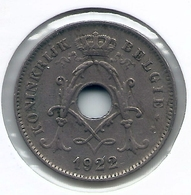 ALBERT I * 10 Cent 1922 Vlaams * Nr 5476 - 1909-1934: Albert I