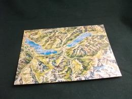 CARTA GEOGRAFICA SUISSE SWITZERLAND SCHWEIZ SVIZZERA BERNER OBERLAND LAGHI - Carte Geografiche