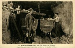 Mines De Potasse D'Alsace Exploitation Souterraine Par Couloir Oscillant - Francia