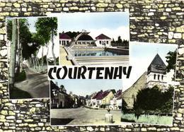 1 Cpsm Courtenay - Courtenay