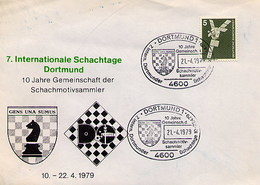 GERMANIA - DORTMUND  1979  -  SCHACH  - SCHAFT - SZACHOWY - SCACCHI -  CHESS - Scacchi