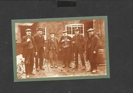 Nostalgia Postcard  Six Villagers 1913 - Genealogy