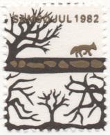 Denmark 1982, Samso, Julemaerke, Christmas Stamp, Vignet, Poster Stamp - Denemarken