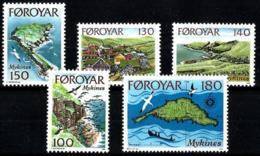Feroe Nº 25/29 En Nuevo - Islas Faeroes
