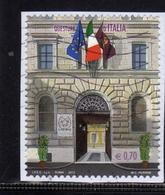 ITALIA REPUBBLICA ITALY REPUBLIC 2013 QUESTURE D'ITALIA ROMA  € 0,70 USATO USED OBLITERE' - 6. 1946-.. Republic