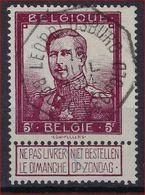 Nr. 122 Met Telegraafstempel LEOPOLDSBURG / BOURG LEOPOLD En In Goede Staat (zie Ook Scan) ! Inzet Aan 7 Euro ! - 1912 Pellens