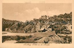 43260311 Saalburg_Saale Partie Am Fluss Saalburg_Saale - Deutschland