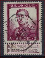 Nr. 122 Met Telegraafstempel HEYST En In Goede Staat (zie Ook Scan) ! Inzet Aan 10 Euro ! - 1912 Pellens