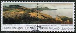 1993 Finland Pro Filatelia FD Stamped Pair. - Finland