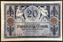 Germany 20 Mark 1915 Unc. - 20 Mark