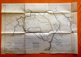 VOIES NAVIGABLES ENTRE LE RHIN LA MEUSE ET L'ESCAUT Ca©1930 Boot Bateau Canal Albert Kanaal SCHELDE RIJN Navigation R79 - Cartes Topographiques