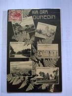 Dunedin Grúss Aus 1910 To Argentina - New Zealand