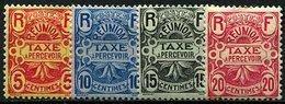 Réunion, Taxe N° 06. à N° 13* Y Et T, 6 / 13 - Réunion (1852-1975)