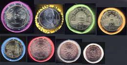 Komplette Kursmünzen 2017 Direkt Aus Der Rolle - Oesterreich