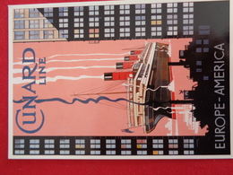 Cunard Line - Cartes Postales