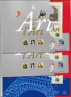 Lot De 3 Blocs N°23 Neufs, TB, Cote 150 Euros, Voir Photo Et Descriptif - Collections