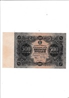 Russie- 500 Roubles 1922 - Russie