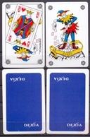 Belgie - Speelkaarten - ** 2 Jokers - Dexia - Rugzijde Egaal - Cartes à Jouer Classiques