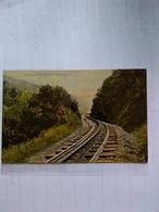 Nueva Zelanda Postcard Cutting On The Rimutaka Incline Railway  1911 - Nouvelle-Zélande