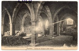 DEPT 77 : édit. Mauris Libr A Provins ; Caveau Du Saint Esprit A Provins ; Photo O Liva Paris - Provins