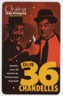 FRANCE CARTE CINEMA LAUREL Et HARDY CINEMA JEAN EUSTACHE PESSAC - Cinéma