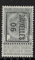Brussel 1906 Typo Nr.1B - Precancels
