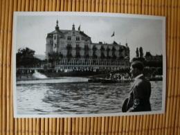 Adolf Hitler Sammelwerk Nr. 15: Sammelbild Nr. 126, Gruppe 64, Der Führer Fährt Auf Dem Rhein Zur Saarkundgebung - Kaufmanns- Und Zigarettenbilder