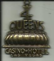 Médaille  -- Casino - Hôtel - Las Vegas.     (2 Scans) - Casino