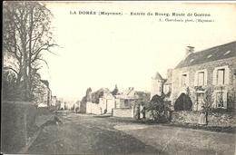 *LA DOREE. ENTREE DU BOURG. ROUTE DE GORRON - France