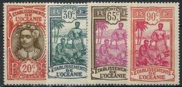 Océanie, N° 069 à N° 079* Y Et T, 69 / 79 - Océanie (Établissement De L') (1892-1958)