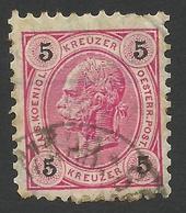Austria, 5 Kr. 1890, Sc # 54, Mi # 53, Used - 1850-1918 Empire