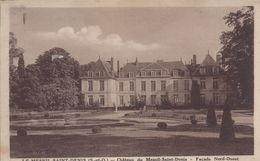 Le Mesnil-Saint-Denis : Château Du Mesnil-Saint-Denis - Façade Nord-Ouest - Le Mesnil Saint Denis